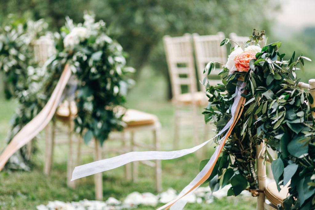 Décoration d'un mariage