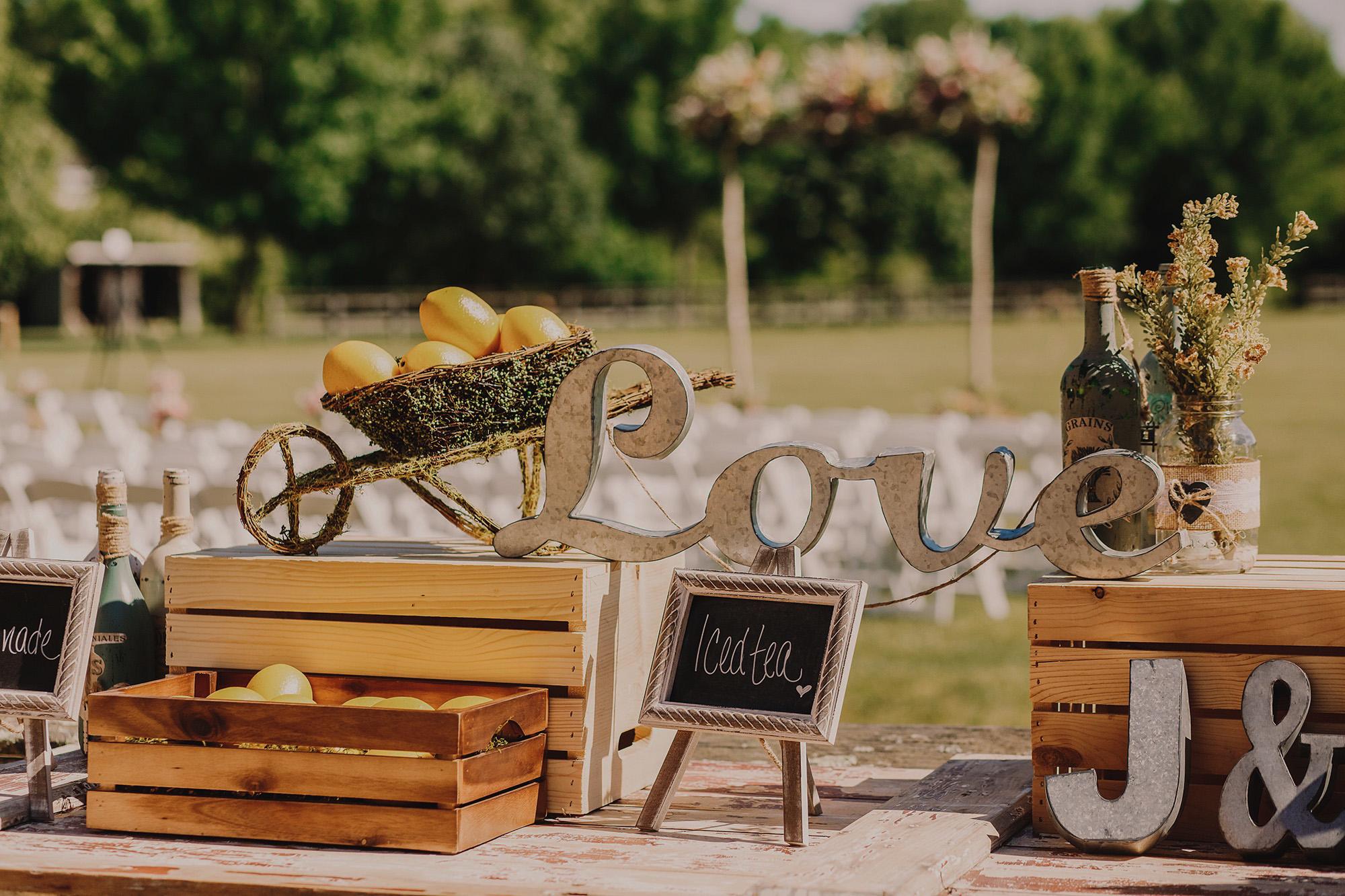 Les accessoires de décoration pour votre mariage