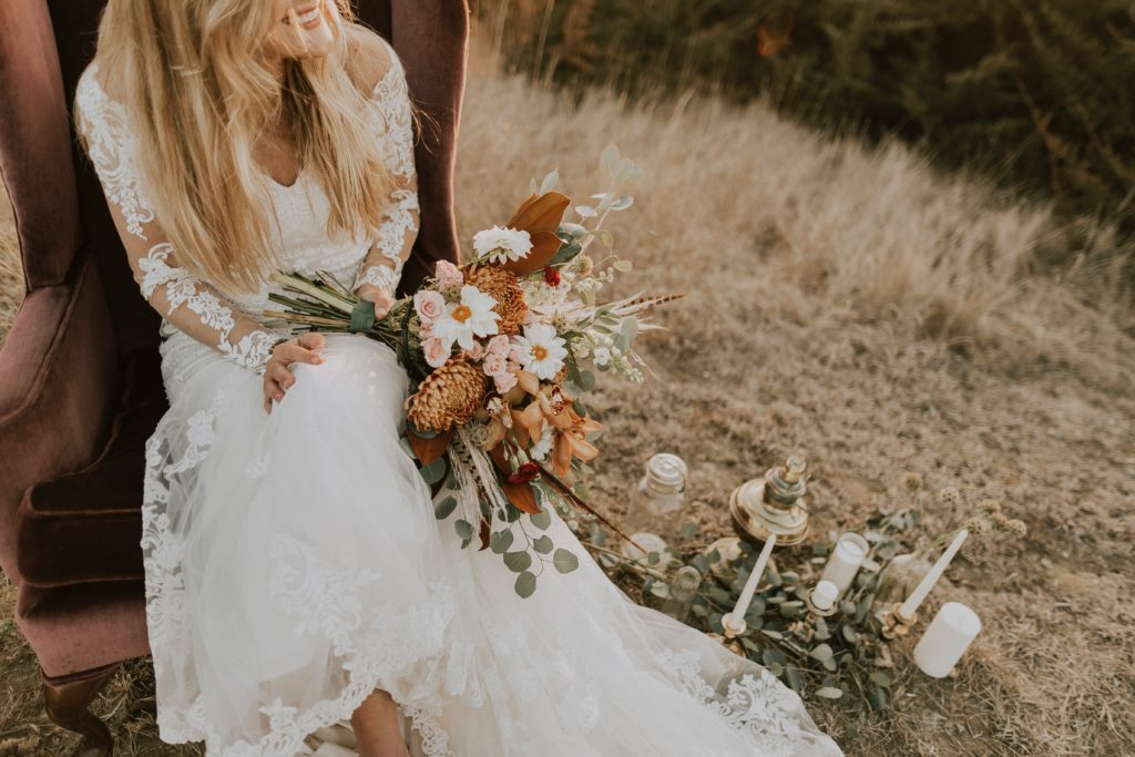 Un mariage bucolique et champêtre